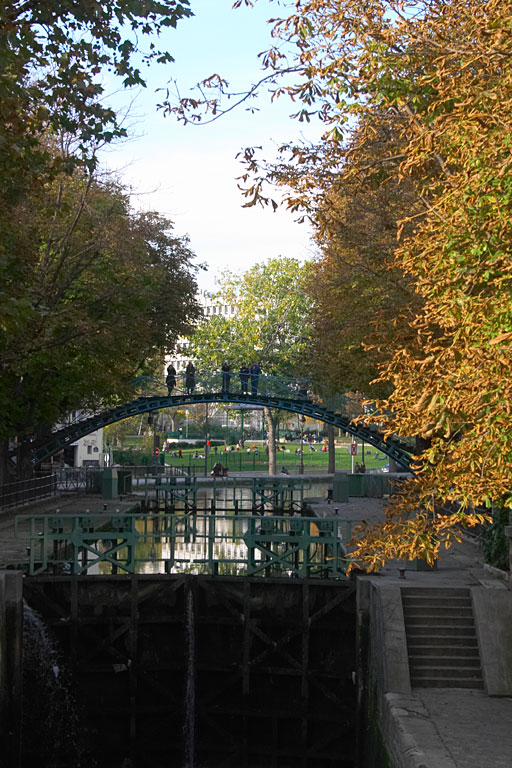 Paris, Canal Saint-Martin